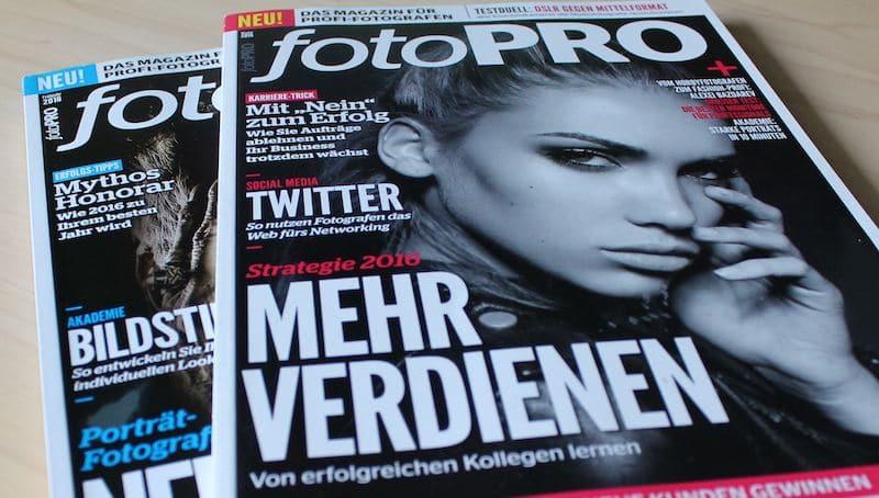 fotoPRO: Selbstvermarktung im Web - Expertise sichtbar machen